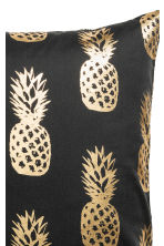 Copricuscino con ananas - Grigio antracite - HOME | H&M IT 2