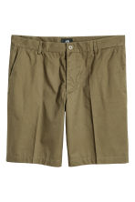 Short chino shorts - Khaki green - Men | H&M 2