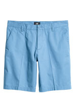 Short chino shorts - Blue - Men | H&M CN 2