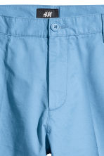 Short chino shorts - Sky blue - Men | H&M 3