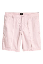 Short chino shorts - Light pink - Men | H&M CN 2