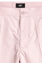 Short chino shorts - Light pink - Men | H&M CN 3