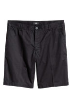 Short chino shorts - Black - Men | H&M 2