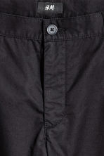 Short chino shorts - Black - Men | H&M CN 3