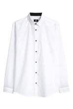 Shirt Slim fit - White - Men | H&M CN 1