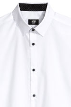 Camicia Slim fit - Bianco - UOMO | H&M IT 2
