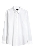 Stretch shirt Slim fit - White - Men | H&M CN 2