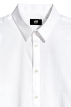 Stretch shirt Slim fit - White - Men | H&M CN 3