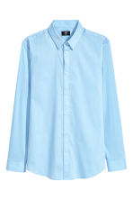 Stretch shirt Slim fit - Blue - Men | H&M 2