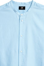 Grandad shirt Regular fit - Light blue - Men | H&M CN 3