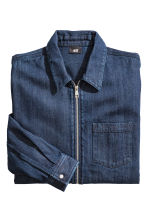 Giacca-camicia in denim - Blu denim scuro - UOMO | H&M IT 3