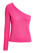 One-shoulder top - Cerise - Ladies | H&M CN 2