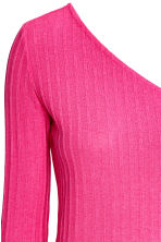 One-shoulder top - Cerise - Ladies | H&M 3