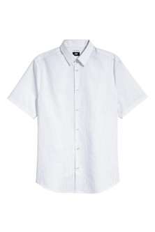 Short-sleeved Easy-iron shirt