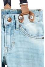 Relaxed Tapered fit Jeans - Bleu denim clair - ENFANT | H&M FR 4