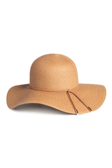 Straw hat - Natural - Ladies | H&M CN 1