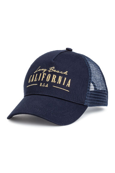 Cap - Dark blue/California - Ladies | H&M 1