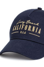 Cap - Dark blue/California - Ladies | H&M 3