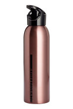 Stainless steel water bottle - Rose gold - Ladies | H&M 1