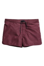 Swim shorts - Burgundy - Men | H&M 2