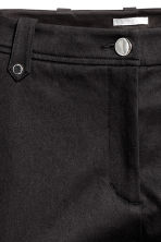 Lyocell blend chinos - Black - Ladies | H&M CN 3