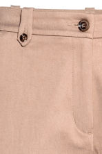 Lyocell blend chinos - Light beige - Ladies | H&M 3