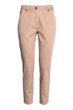 Lyocell blend chinos - Light beige - Ladies | H&M 2