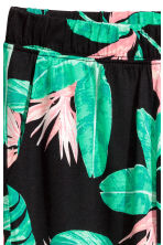 Harem pants - Black/Leaf - Kids | H&M 3