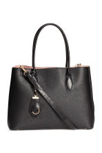 Handbag with keyring - Black - Ladies | H&M CN 1