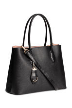 Handbag with keyring - Black - Ladies | H&M CN 2