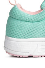 Mesh trainers - Mint green - Kids | H&M 5
