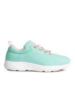 Mesh trainers - Mint green - Kids | H&M 1