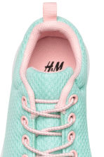 Mesh trainers - Mint green - Kids | H&M 4