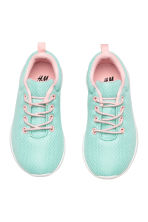 Mesh trainers - Mint green - Kids | H&M 2