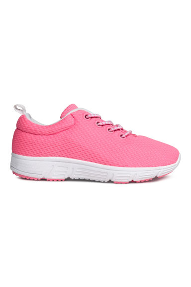 Baskets en mesh - Rose fluo - ENFANT | H&M FR
