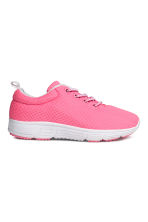Baskets en mesh - Rose fluo - ENFANT | H&M FR 1