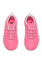 Baskets en mesh - Rose fluo - ENFANT | H&M FR 2