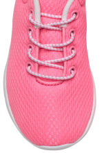 Baskets en mesh - Rose fluo - ENFANT | H&M FR 3