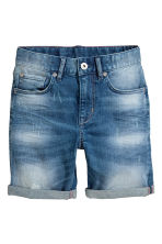 Shorts in denim - Blu denim - BAMBINO | H&M IT 2