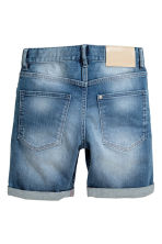 Shorts in denim - Blu denim - BAMBINO | H&M IT 3