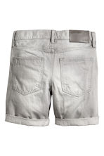 Denim shorts - Grey washed out - Kids | H&M 3