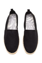 Espadrilles - Black - Men | H&M CN 2