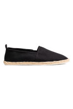 Espadrillas - Nero - UOMO | H&M IT 1