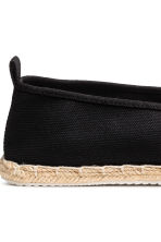 Espadrillas - Nero - UOMO | H&M IT 4