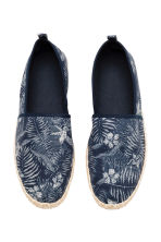 Espadrilles - Dark blue/Leaf - Men | H&M 2