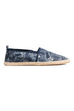 Espadrilles - Dark blue/Leaf - Men | H&M 1