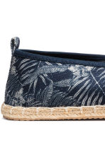 Espadrilles - Dark blue/Leaf - Men | H&M 4