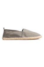 Espadrilles - Grey - Men | H&M 1