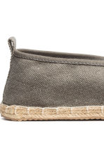 Espadrilles - Grey - Men | H&M 4