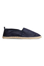 Espadrilles - Dark blue - Men | H&M 1